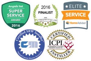 TGG Landscape Construction Awards & Accreditationa