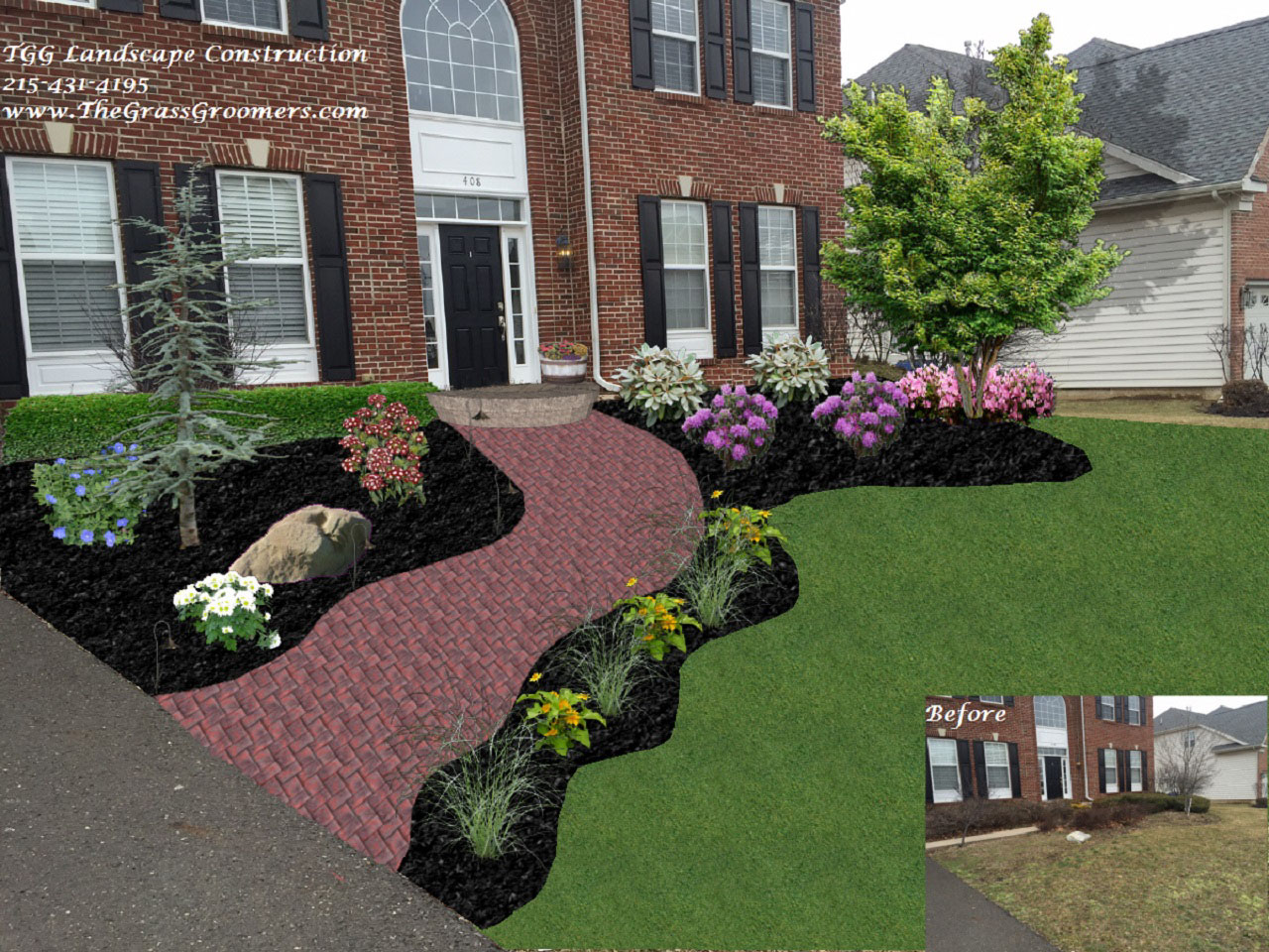 Landscape Design & Installation by TGG Landscape Construction